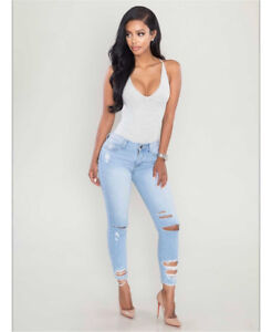 Posh Shop ripped Jeans brand new with tags - sz 9