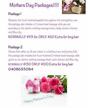 SAVVY HAIR STUDIO MOTHER'S DAY PACKAGES!!! Port Macquarie 2444 Port Macquarie City Preview