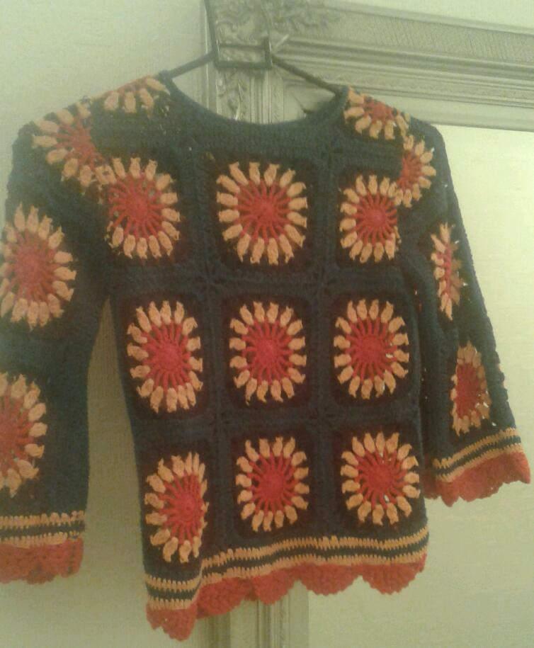 Next girls crochet jumper