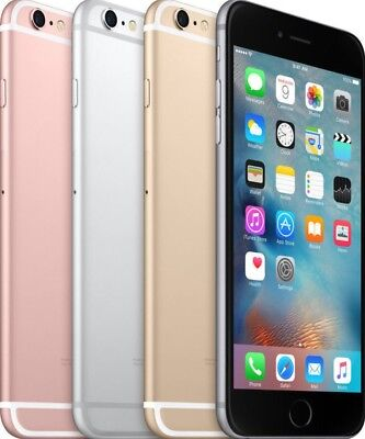 Apple Iphone 6S  16Gb 64Gb 128Gb Gsm  Factory Unlocked  Smartphone And At T