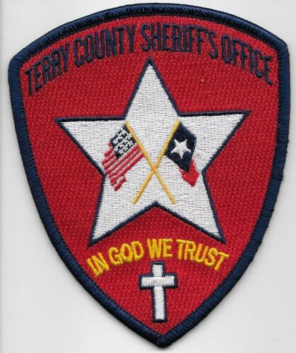 Terry County Sheriff State Texas TX NEW