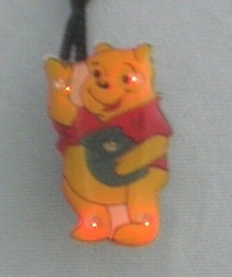 10 Winnie the Pooh Body Flashing LED Light Up Blinky Necklace Kids Party Favors](Light Up Necklaces Bulk)