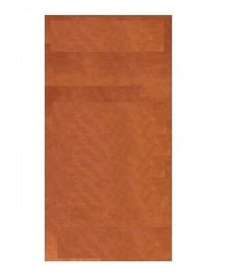 "COPPER SHEET 18GA, 4 x 12"" ( SOFT ) GENUINE SOLID COPPER, MADE IN USA"