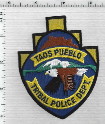 Taos Pueblo Tribal Police Dept (New Mexico - Tribal) 2nd Issue Shoulder Patch