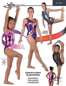 Jalie Tank Leotard & Biketard Sewing Pattern # 3138 in 22 Sizes Misses' & Girls'