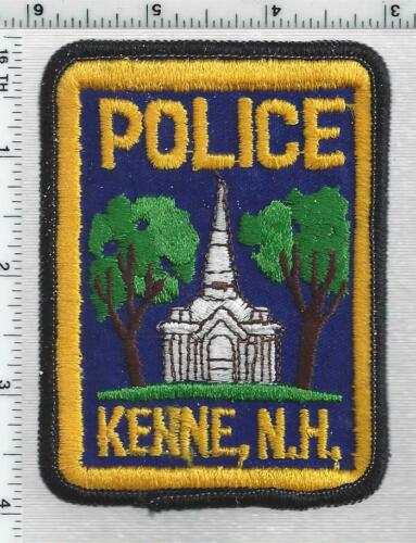 Keene Police (New Hampshire) 3rd Issue Shoulder Patch