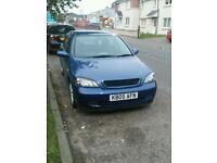 Vauxhall astra low miles for sale or swap