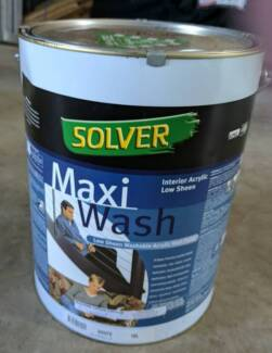 Solver Maxi Wash Low Sheen Acrylic 10L unopened