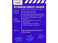 Cisco CCNA , CCNP and CCIE training. Staff working in IT get the job immediately !!