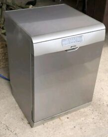 Smeg stainless steel dishwasher excellent condition