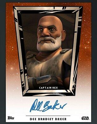 DIGITAL CARD Topps Star Wars Card Trader Dee Bradley Baker Auto DIIGITAL CARD