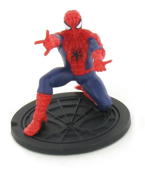 Marvel Comics Ultimate Spider-Man figurine Spiderman Bent Down 7 cm Y96033