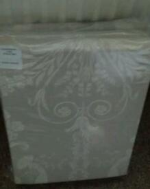 "Laura Ashley Josette Taupe curtains 90 x90"" brand new in packaging"