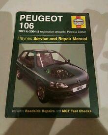 Peugeot 106 Haynes Manual