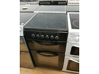 Belling Double oven electric cooker 50cm width. Free local delivery