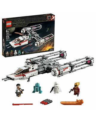 Lego Star Wars : Resistance Y-Wing Starfighter 75249 Box Crushed A Little