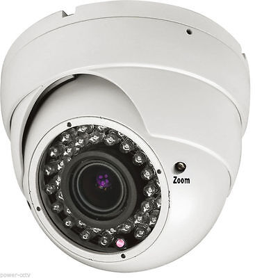 Vandal Proof Infrared 36 Led - 1800TV Line Sony CMOS CCD 36Infrared LEDs Home Surveillance Security Camera Dome