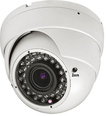 Vandal Proof Infrared 36 Led - 1800TVL 36 Infrared LEDs 2.8-12mm Top sell Surveillance Security Camera