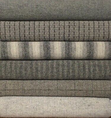 "100% WOOL FOR RUG HOOKING/APPLIQUE ""GRAY SKYS"""
