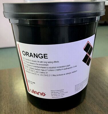 Ulano Orange Emulsion 1 Gallon 1guforange