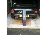 Peugeot 205 gti sunroof wind deflector