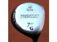 Lynx Predator II Fairway Woods 5 & 7 RH