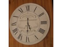 Large Decadent Kitchen Clock Ornament / Picture 60cm Diameter, 4cm thick (not a working clock)