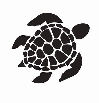 Sea Turtle Animal Die Cut Car Decal Sticker - FREE SHIPPING