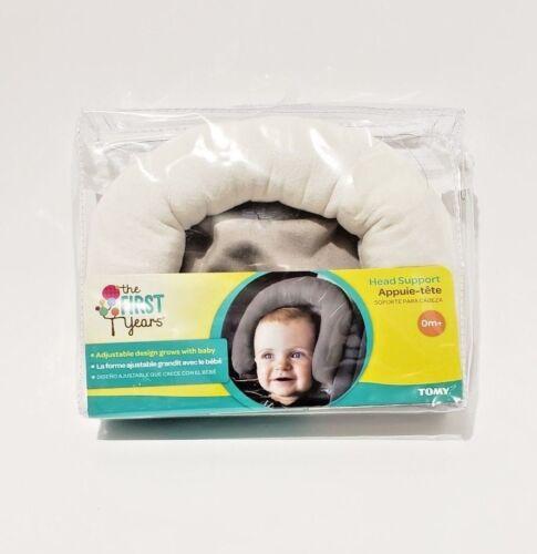 Deluxe Full Head Support Fleurville Newborn  Infant Adjustable Baby Gray color