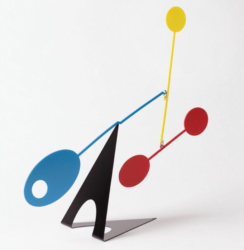 Ekko Workshop Elliptical Desktop Mid-Century Modern Mobile Stabile Kinetic Art
