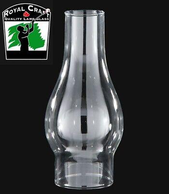 "NEW 2 1//2/"" x 7 1//2/""  CLEAR GLASS HURRICANE OIL LAMP LANTERN CHIMNEY SHADE CH920"