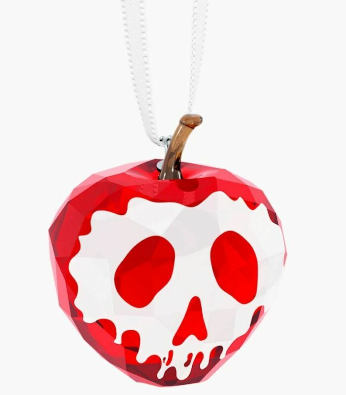 New in Box SWAROVSKI CHRISTMAS Disney Poisoned Apple Ornament #5428576