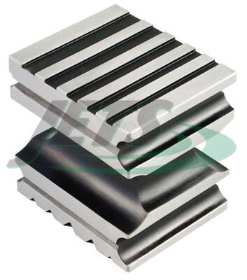 Steel Forming Block Grooved Design Swage Block Metal Shaping Jewelry Making
