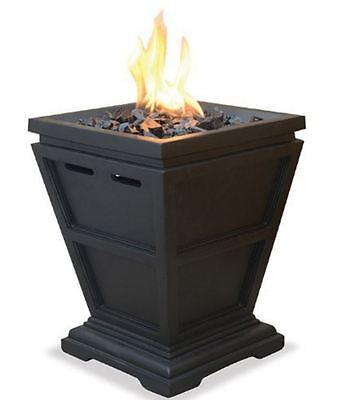 Blue Rhino Gas Outdoor Fireplace Table Top Fire Pit UniFlame LP ...