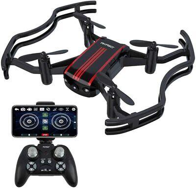 AKASO A21 Mini Quadcopter Drone Camera Live Video with 720P HD FPV WiFi 165ft