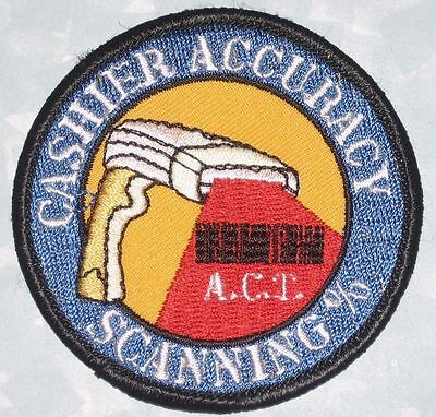 "Lowe's Cashier Accuracy Scanning Patch - 2 5/8"" x 2 5/8"""