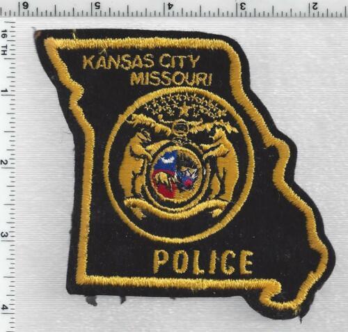 Kansas City Police (Missouri)  RARE FELT Shoulder Patch