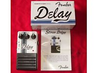 FENDER DELAY GUITAR FX