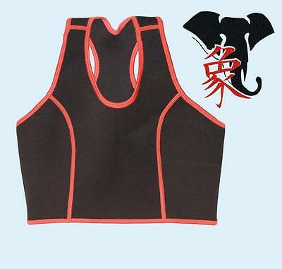 TOP NEOPRENE PRO GYM FITNESS FIT YOGA PILATES BODY BOXE CANOTTA DONNA DIMAGRANTE