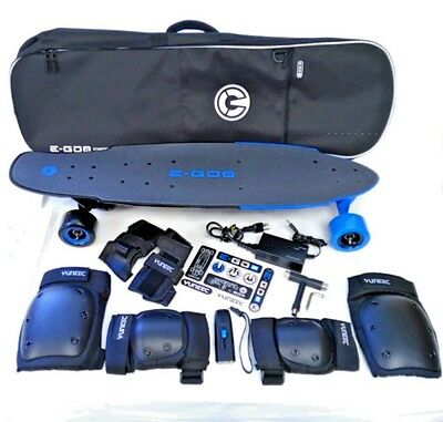 Yuneec E-GO2  Electric Longboard BUNDLE USA Seller 100% Authentic