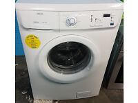 c313 white zanussi 7kg 1600spin washing machine comes with warranty can be delivered or collected