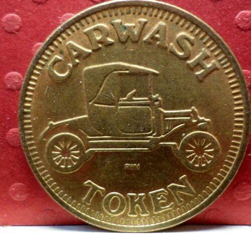 Car wash Token No Cash Value T-183