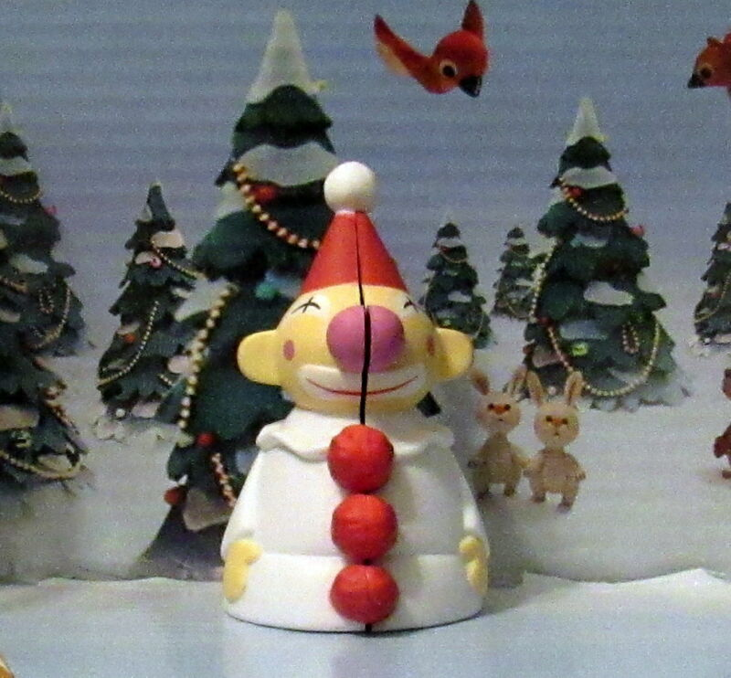 Rudolph The Red Nosed Reindeer Island of Misfit Toys Clown Wind up Mouse