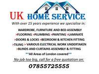 HANDYMAN Kitchen, Bathroom, Electrical, Plumbing,Tiles, BENSON & IKEA Furniture Assembly & MORE