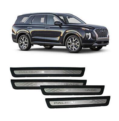 OEM Hyundai Palisade e 2019 aluminium Door sill Scuff Step Plate , 4P S8500NNB
