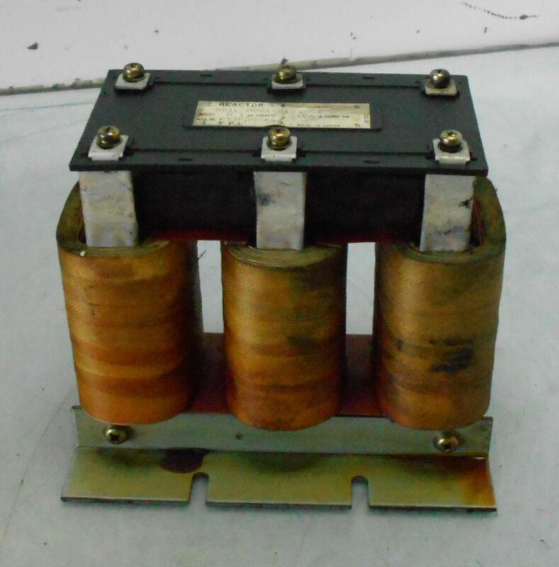 GE Fanuc Line Reactor Transformer, A81L-0001-0124-03, Used, WARRANTY