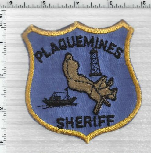 Plaquemines Parish Sheriff (Louisiana) 1st Issue Shoulder Patch