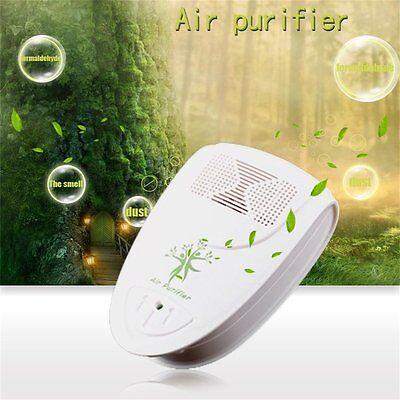 Indoor Oxygen Bar Ionizer Air Fresh Purifier Freshener Home Wall 110/220V LN