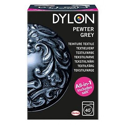 Tinte Textil Tela Ropa Gris Dylon