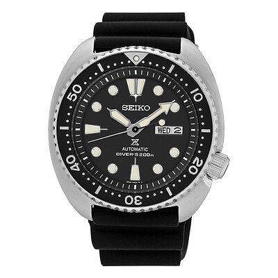 Seiko Mens SRP777 Turtle 45mm Rubber Strap Automatic Movement Day/Date (Automatic Day Date Mens Watch)